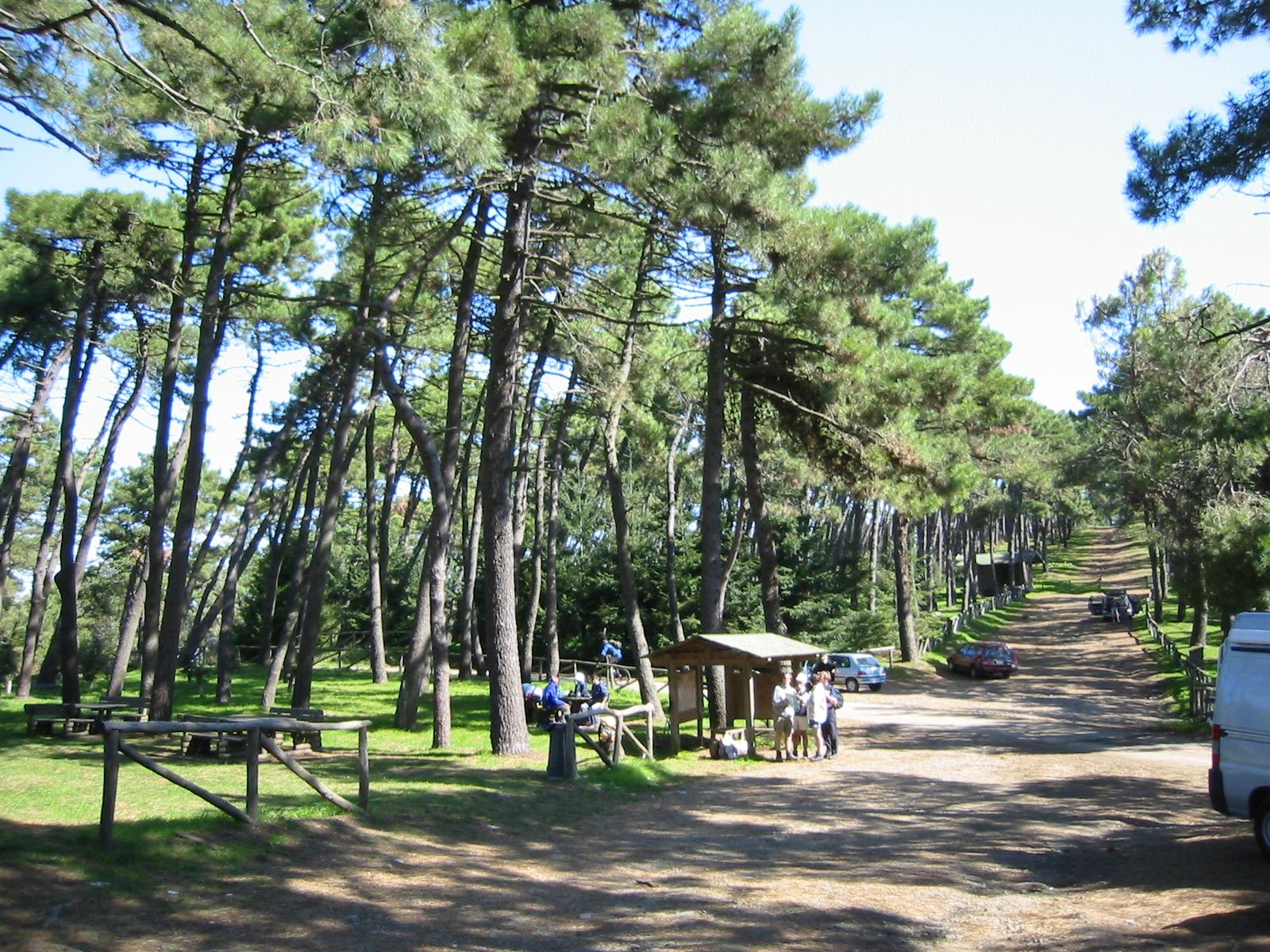 Monte Perone - Parkplatz