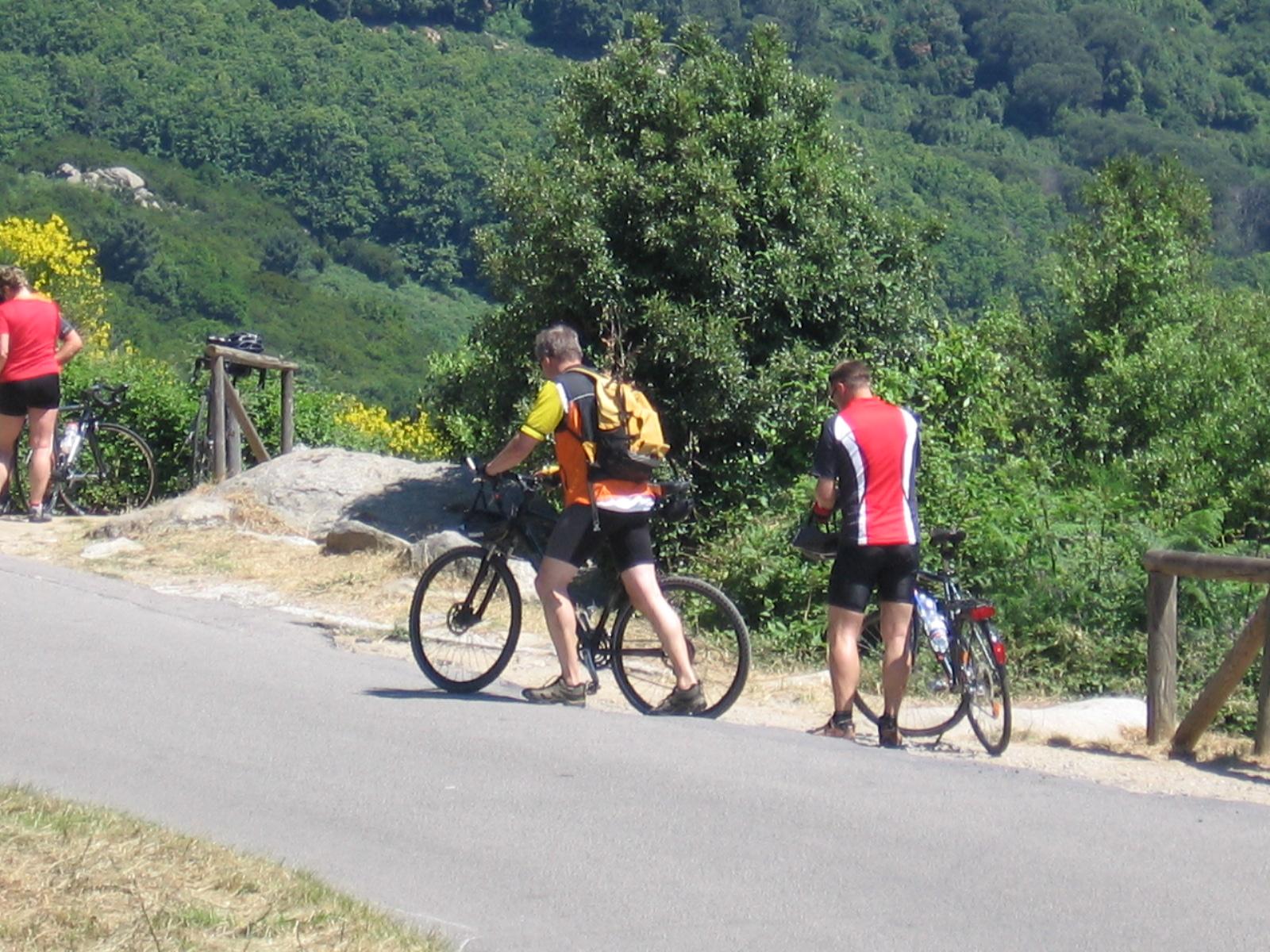 Biker auf Elba