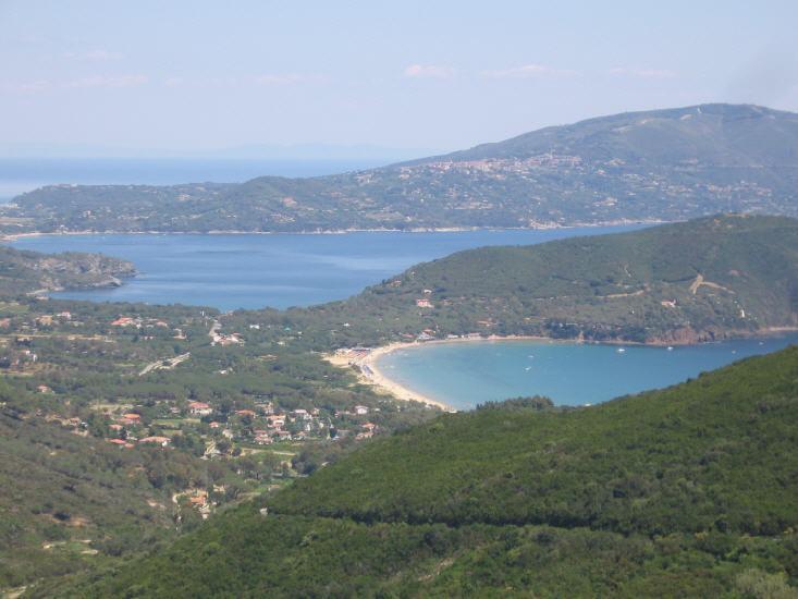Golfo di Lacona, Capo Stella und Golfo Stella