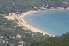 Golfo di Lacona auf Höhe der Campingplätze Tallinucci und Valle Santa Maria