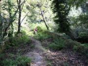Auf dem Wanderweg Richtung Poggio