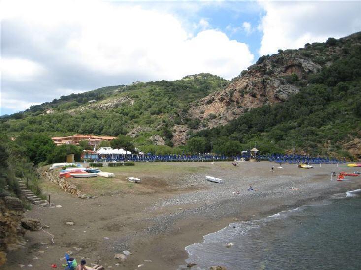 Strand von Ortano Mare