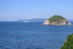 Cavo. Blick zum Festland
