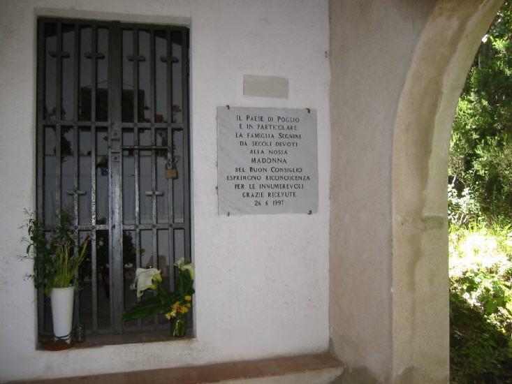 Madonna del Buon Consiglio oberhalb Marciana Marina.