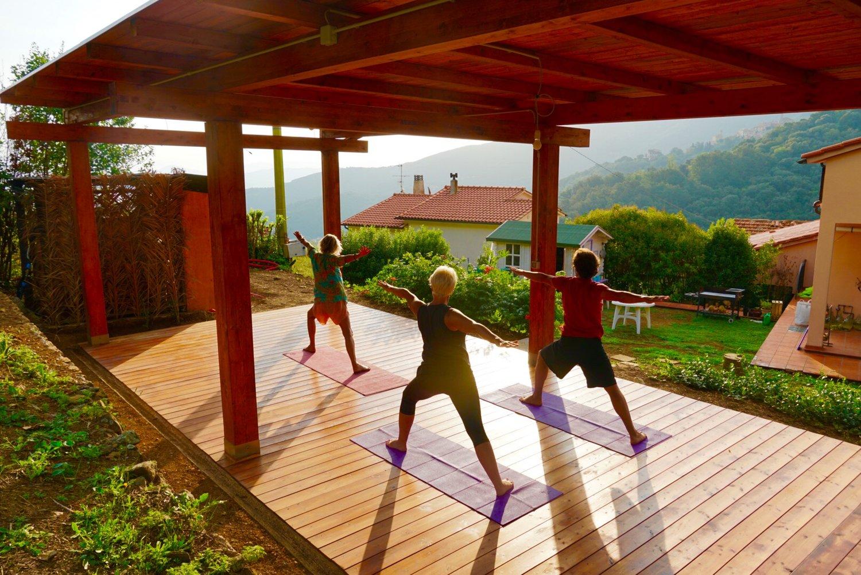 Yoga auf Elba
