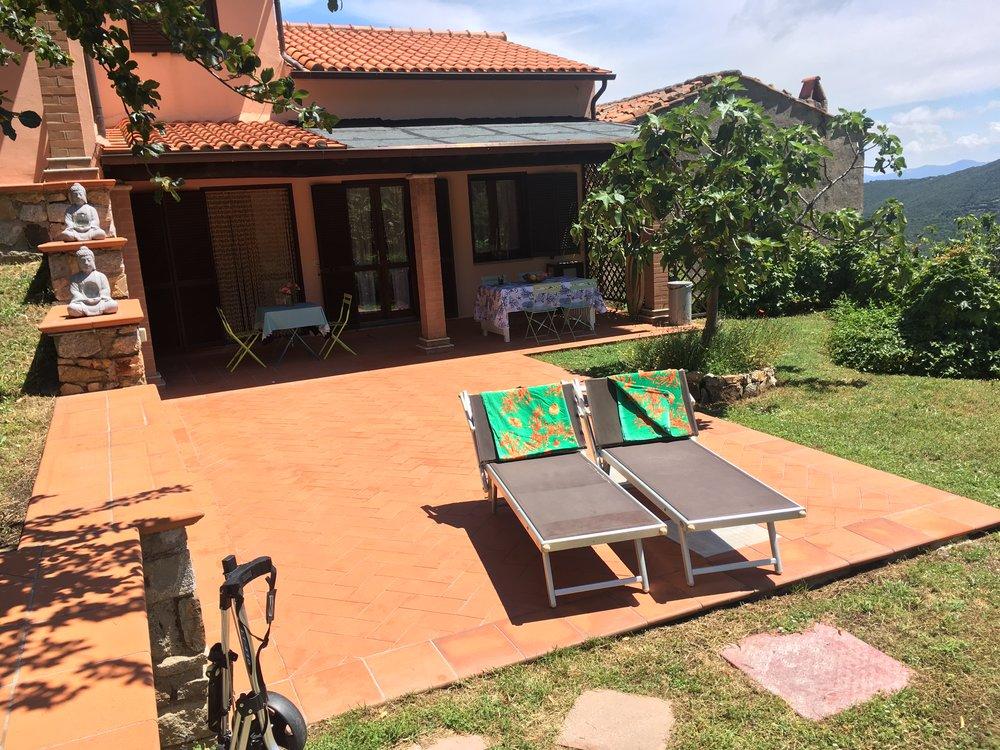 Yoga auf Elba Appartments